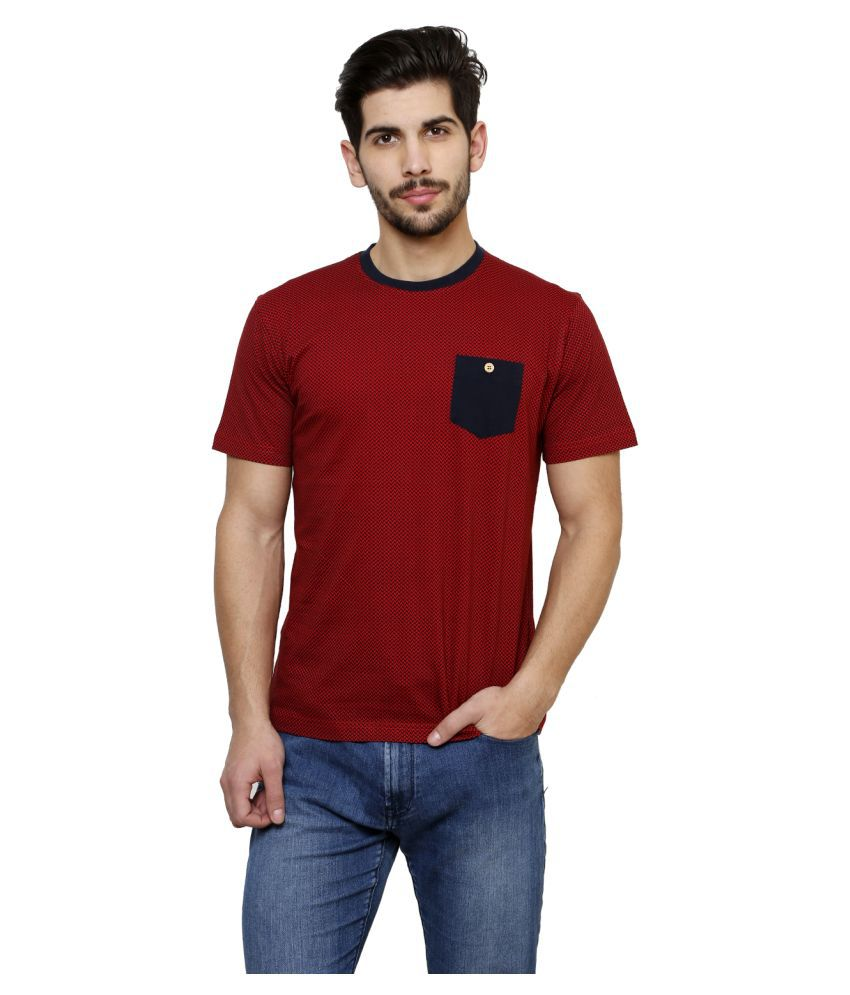 Freak'n By Cotton County Red Round T-Shirt