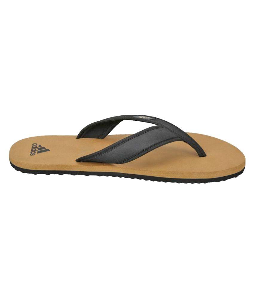 07d2161cc4c7 Adidas Khaki Thong Flip Flop Price in India- Buy Adidas Khaki Thong ...