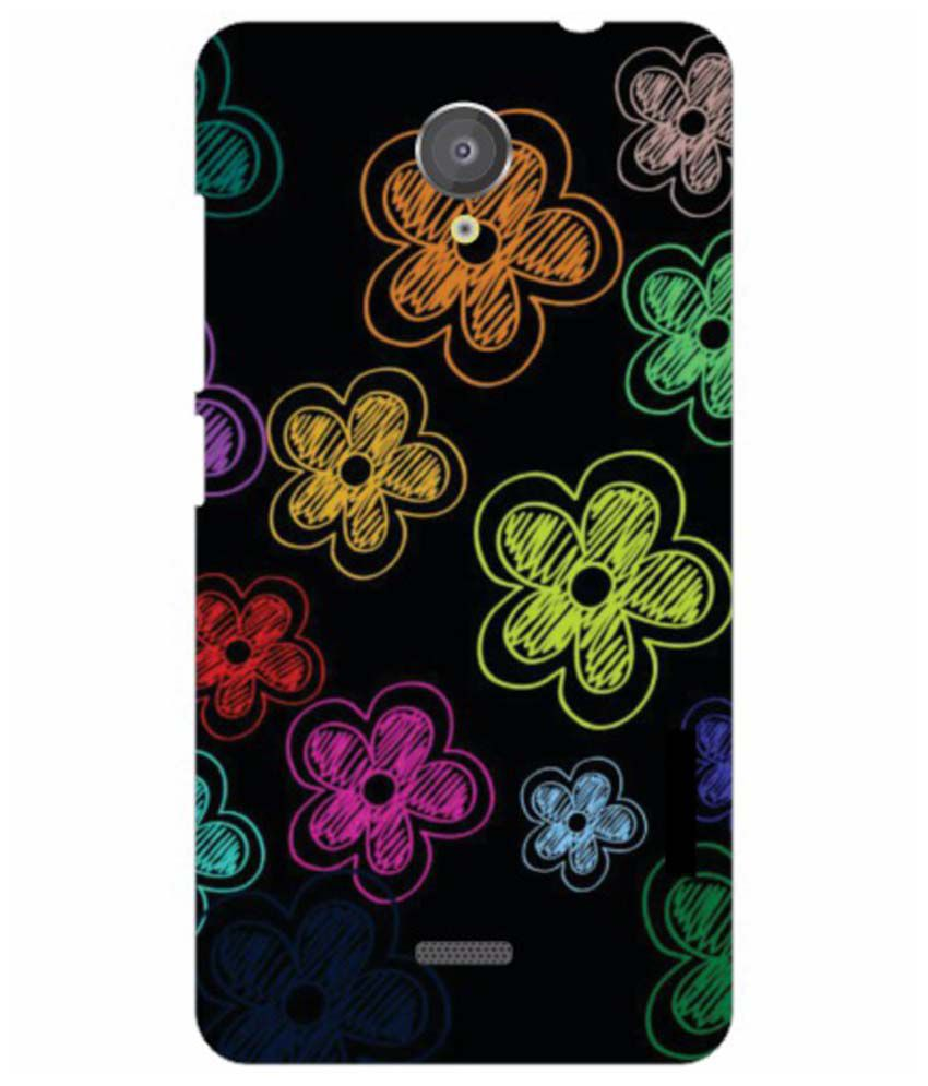 finest selection 9aacc d4d52 Micromax Unite 2 A106 Silicon Back Cover Multicolor