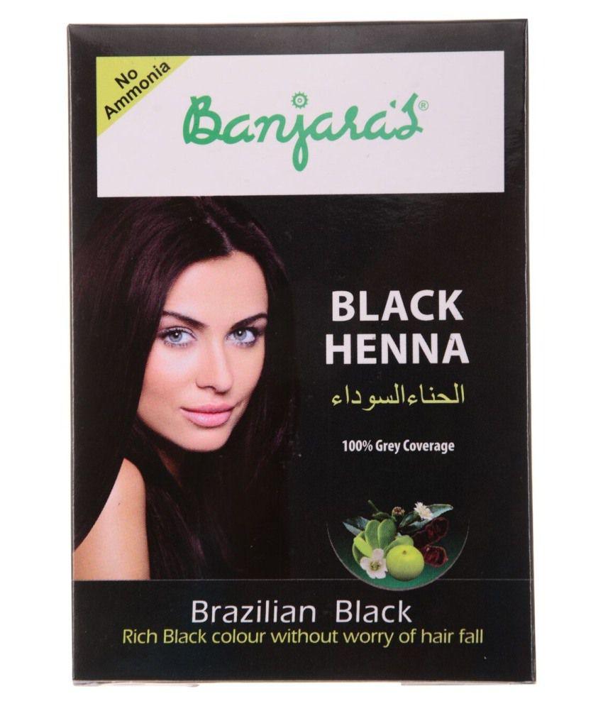 fe1c262952d84 Banjaras Black Henna Brazilian Black 54 g (6 Sachets Inside): Buy Banjaras  Black Henna Brazilian Black 54 g (6 Sachets Inside) at Best Prices in India  - ...