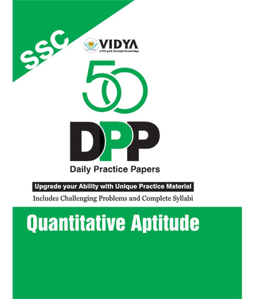 50 Practice Sets Mathematics Quantitative Aptitude PDF by Vidya