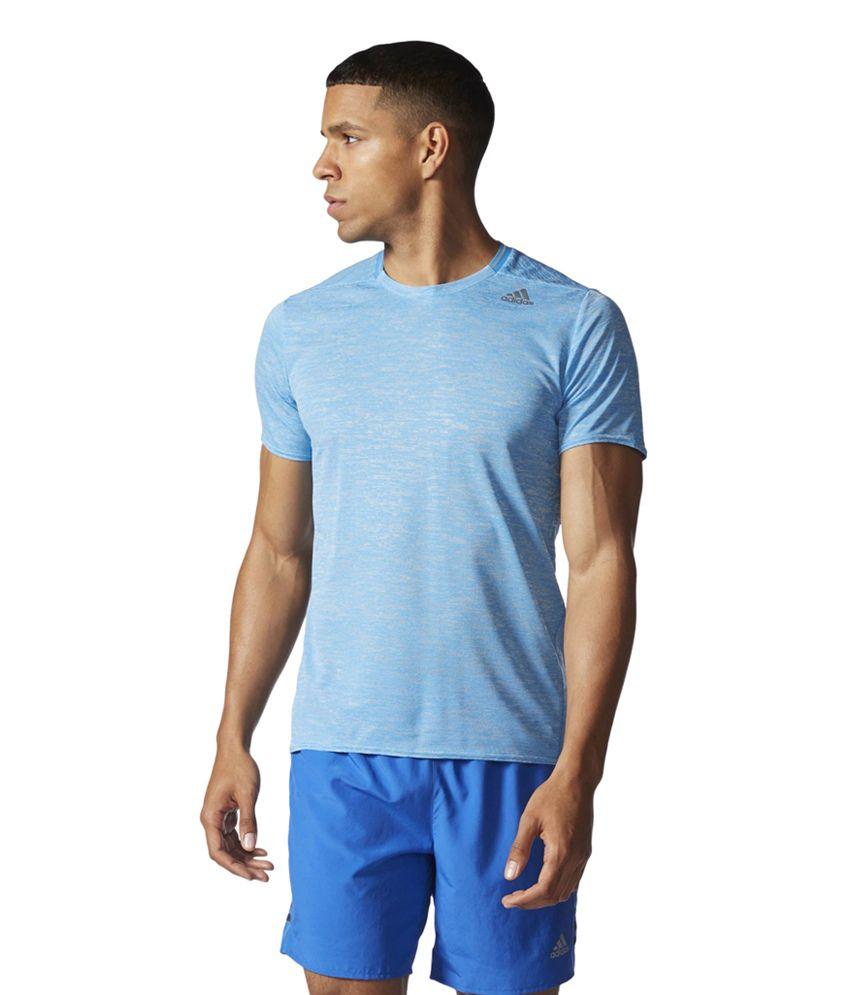 Adidas Blue Men's Supernova Tee