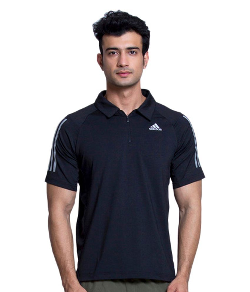 Adidas Blue Men's Training Cool365 Polo Shirt