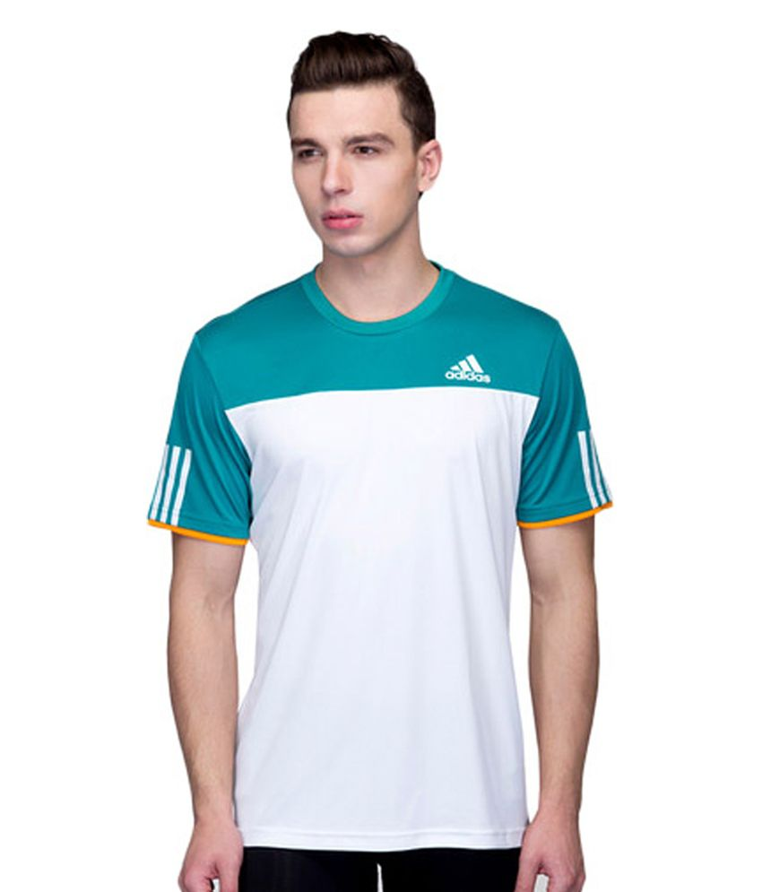 Adidas White Club T-shirt