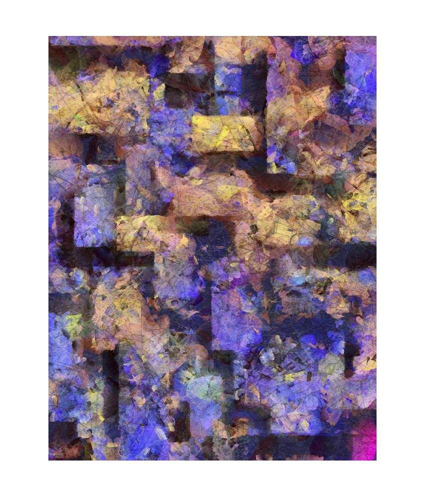 Artzfolio Art Gallery Canvas Art Prints With Frame Single Piece