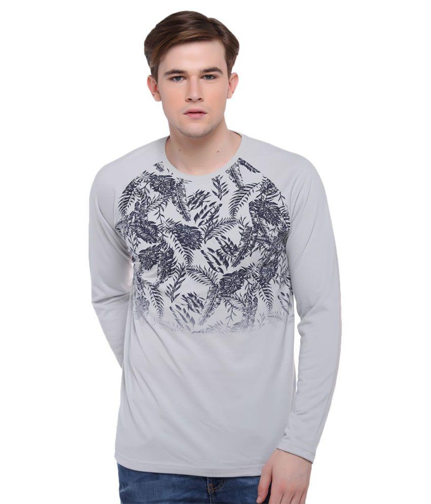 Club York Grey Round T Shirt