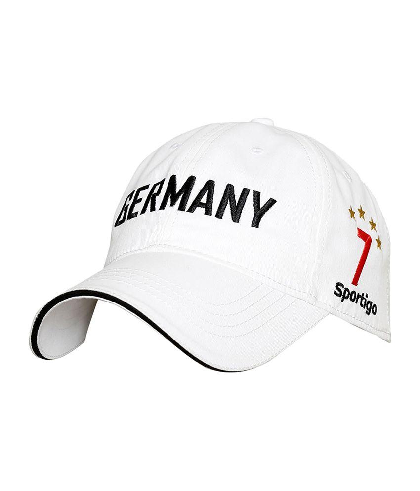 Sportigo Germany Football Cap - White