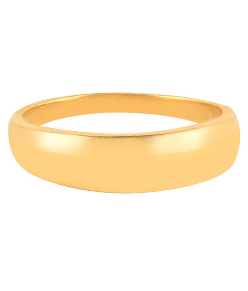Jisha 22Kt BIS Hallmarked Yellow Gold Ring