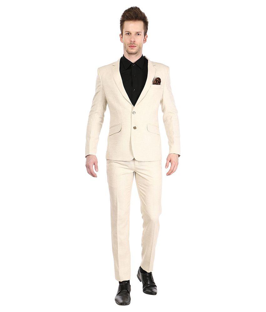 Platinum Studio Beige Party Suits