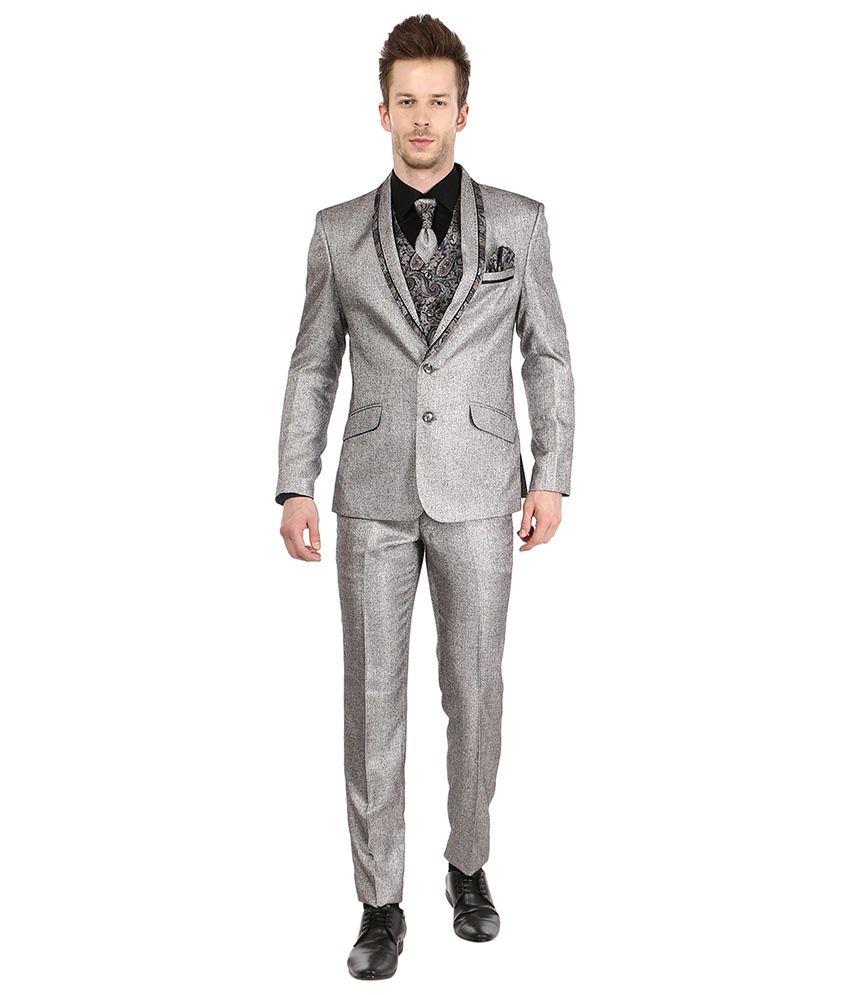 Platinum Studio Grey Party Suits