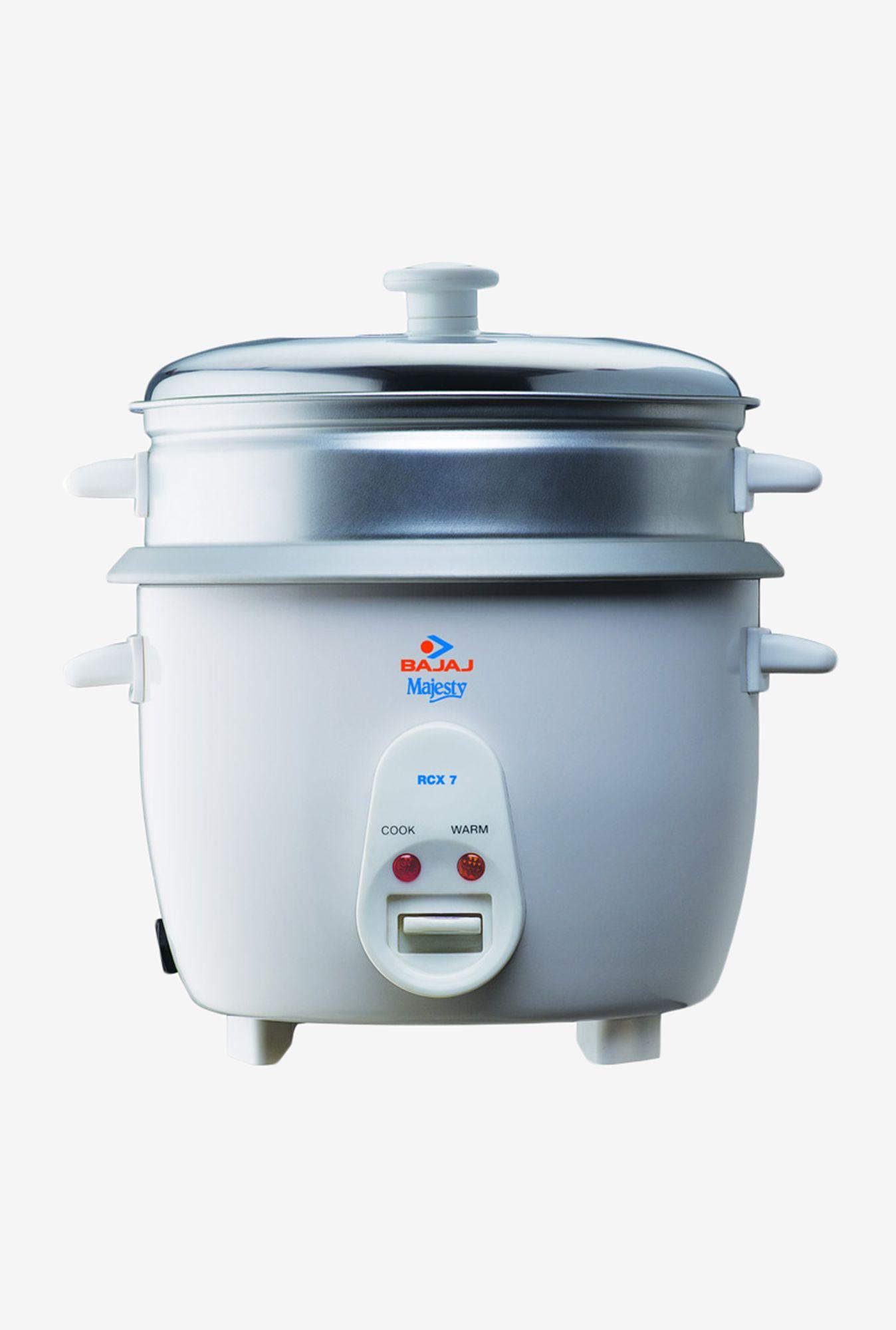 Bajaj Rcx 7 Rice Cookers Price In India Buy Bajaj Rcx 7