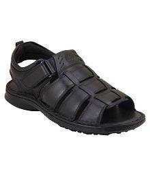 Ventoland Black Sandals