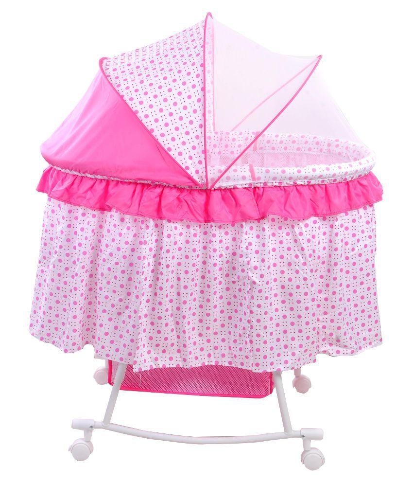 Magic Pink Baby Cradle