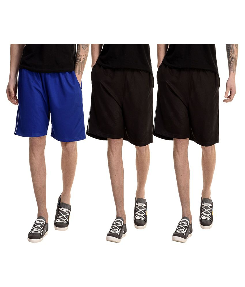 Dee Mannequin Multi Shorts Pack of 3