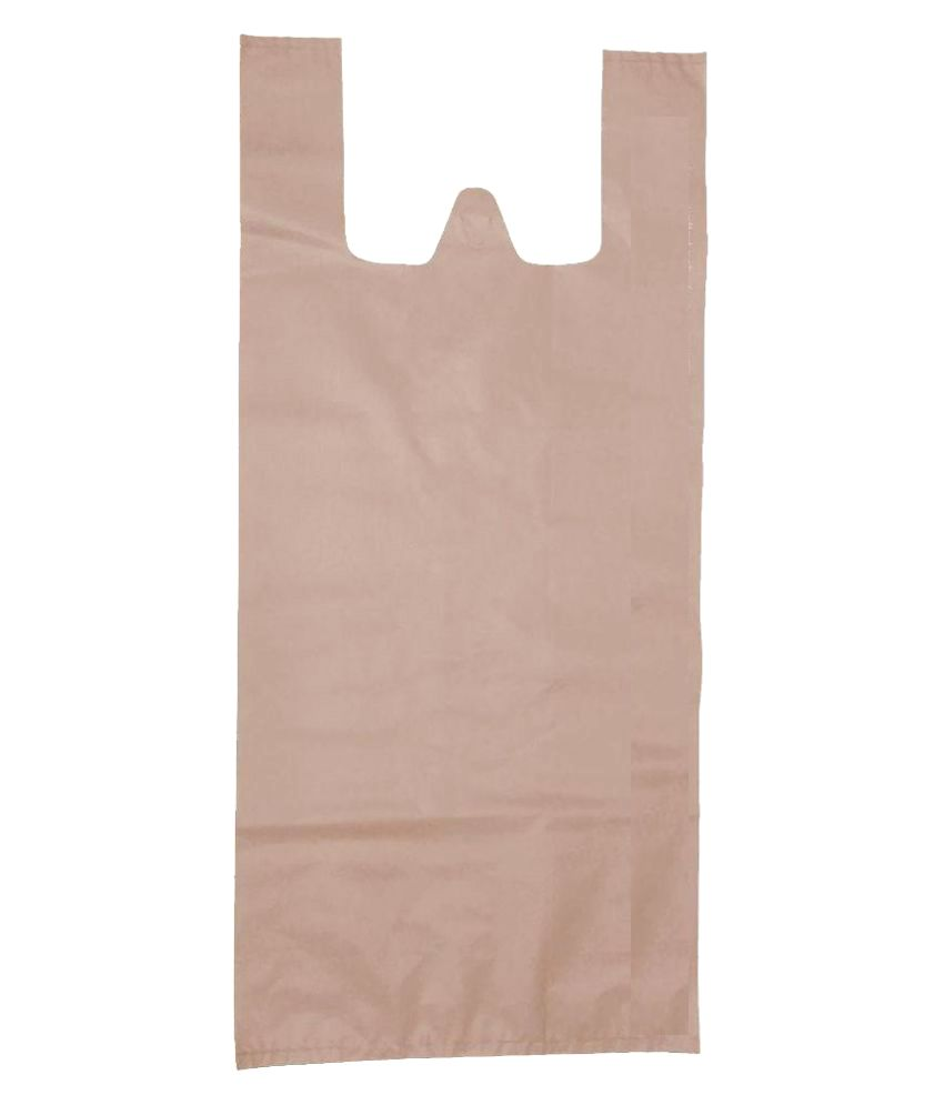 United Polyplast Beige Shopping Bags