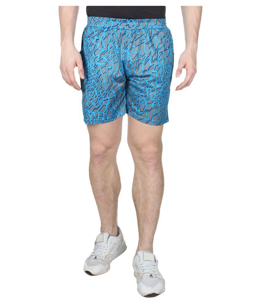 Creez Turquoise Shorts