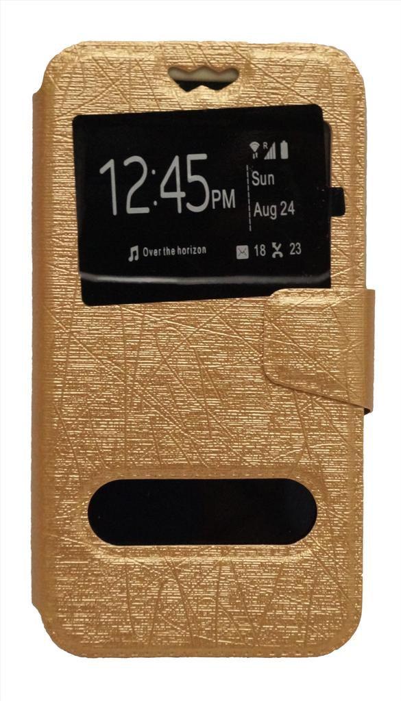 Lenovo K3 Note Music Flip Cover by GEOCELL - Golden