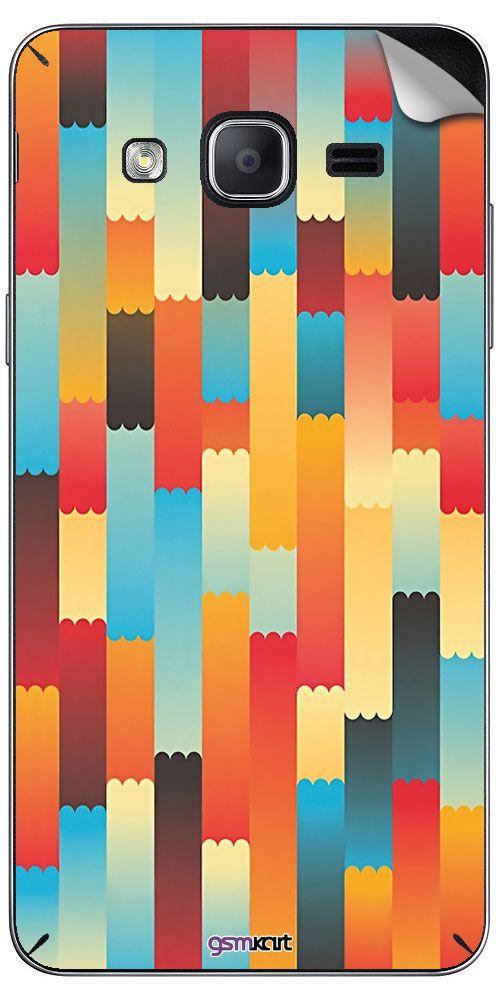 Samsung Galaxy On 5 Designer Stickers by GsmKart - Multi