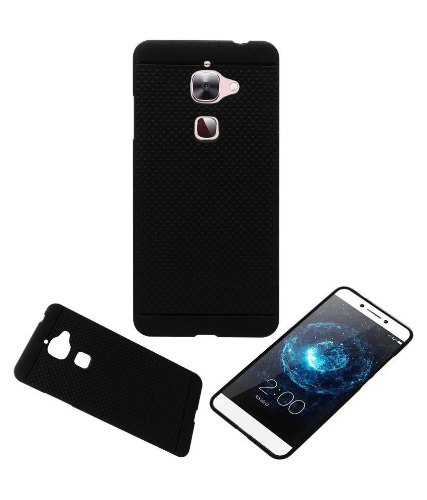 finest selection c73b9 46d60 Acm Dotted Soft Silicon Back Case Cover For Leeco Le 2 Mobile - Black