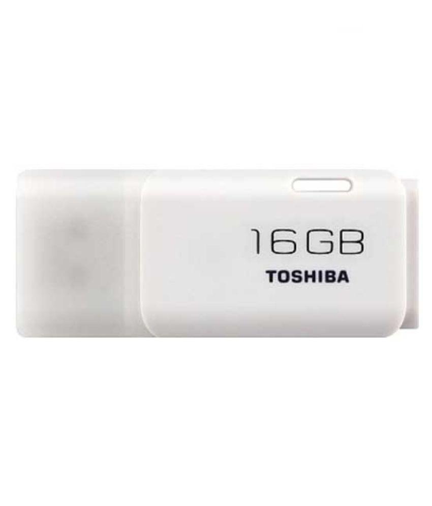 Toshiba THN-U202w0160A4 16GB USB 2.0 Utility Pendrive