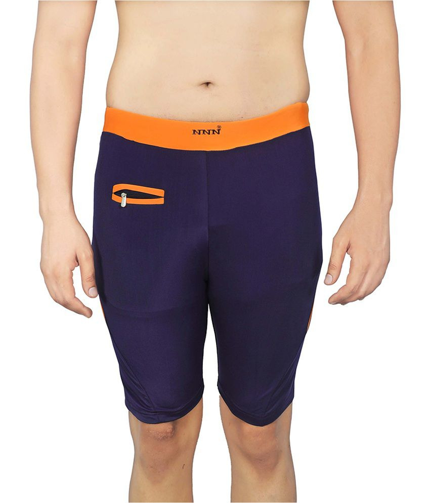 NNN Navy Swimming Trunk