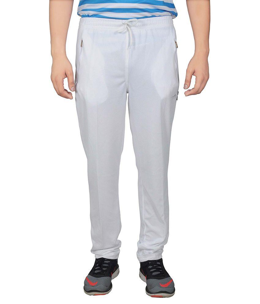 NNN White Track Pant