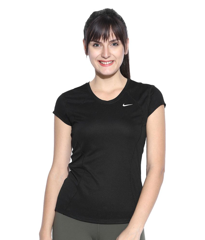 Nike Black AS Racer Top for Women