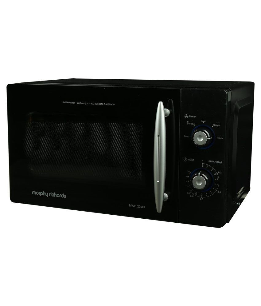 Morphy Richards 20 Ltr Ms Microwave Oven Price In India