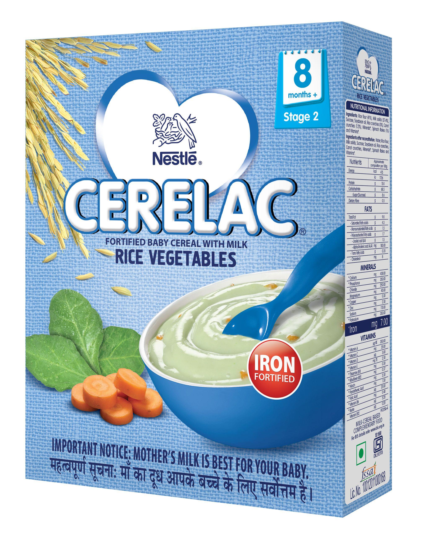 Nestle Cerelac Infant Cereal Stage 2 (after 8 Months) Rice