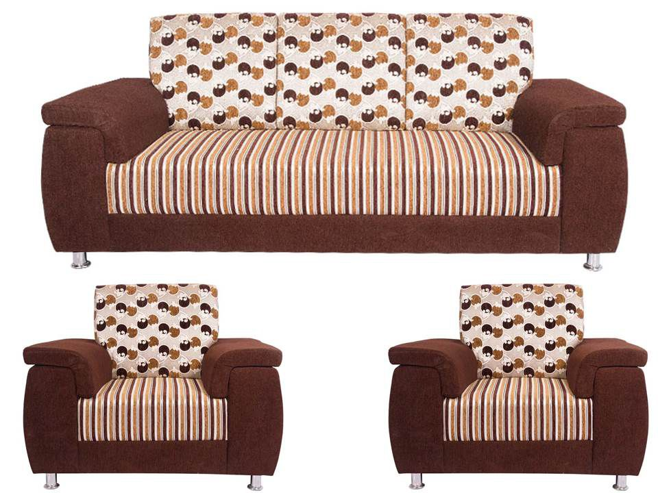 Wood Mark U Shape Handle 3+1+1 Sofa Set ...