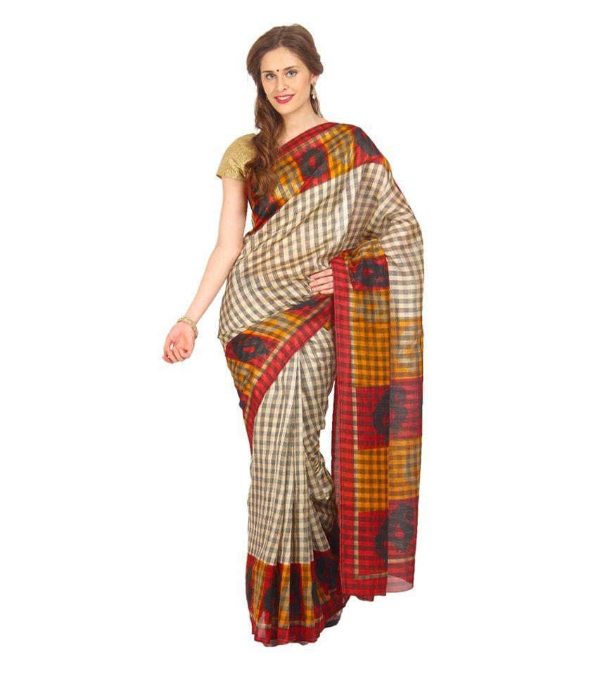 Satrang Multicoloured Art Silk Saree