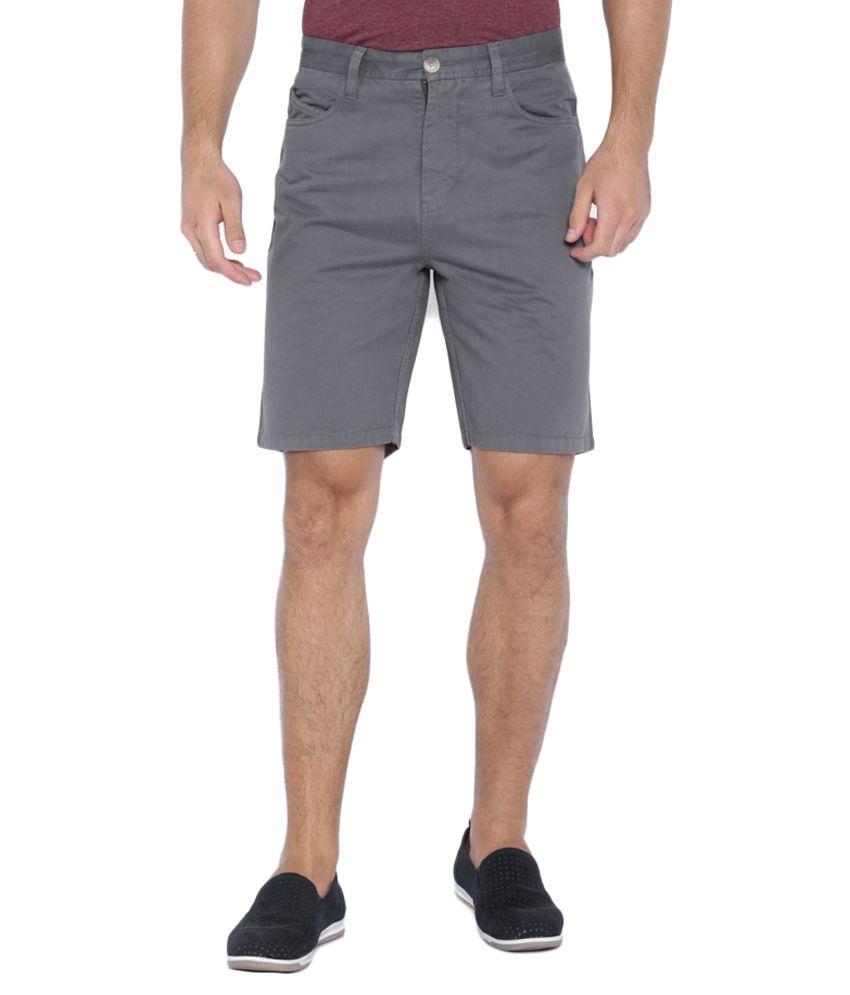 Blue Wave Grey Shorts