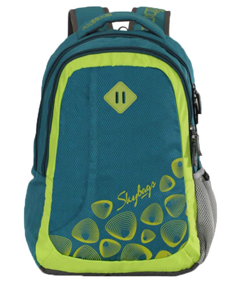 491a07f10d0f Skybags Footloose Leo 02 Blue available at SnapDeal for Rs.1254
