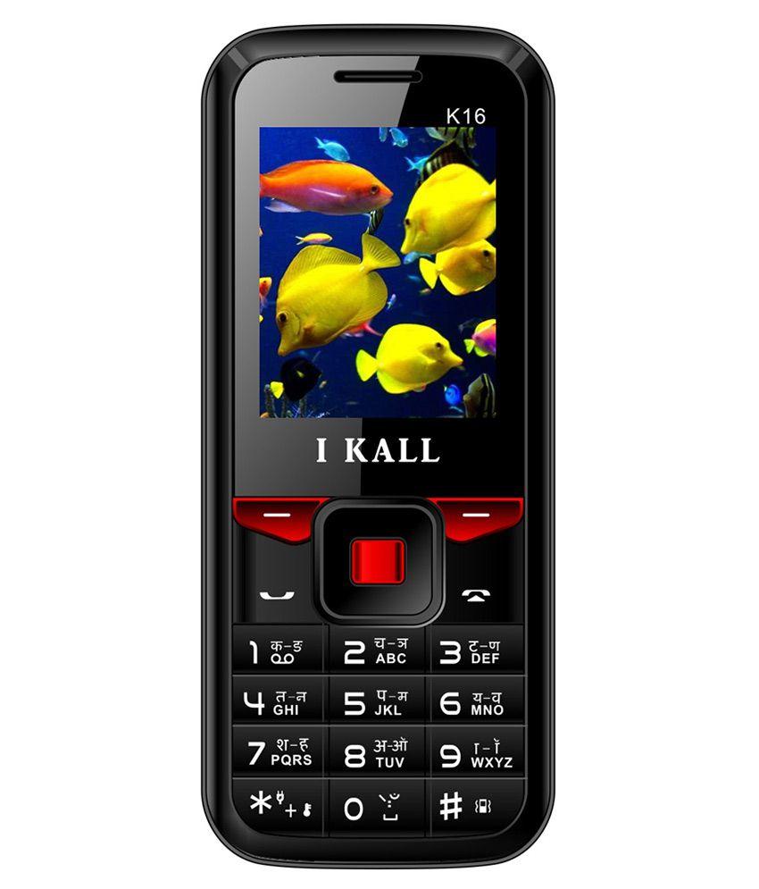 I Kall K16 4GB and Below Black