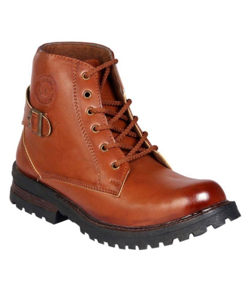 JK Port Brown Party Boot