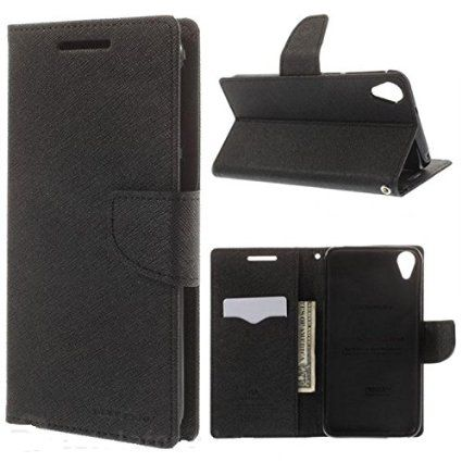Micromax Canvas Express 2 E313 Flip Cover by GOOSPERY - Black