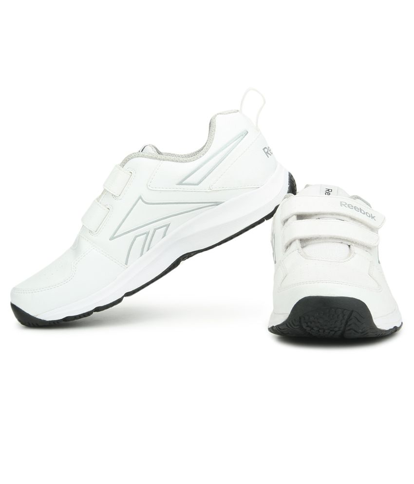 168940c7d459a6 Reebok All Day Walk Velcro White Running Sports Shoes - Buy Reebok ...