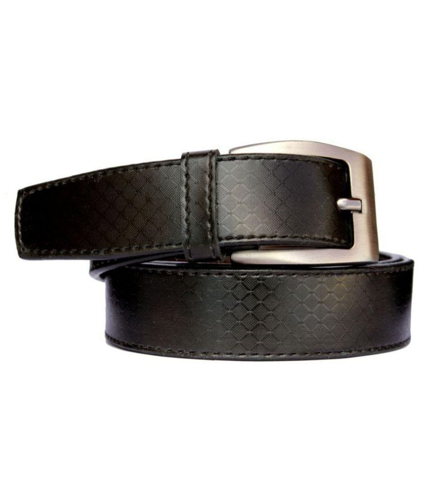 Discover Fashion Black Belt For Men