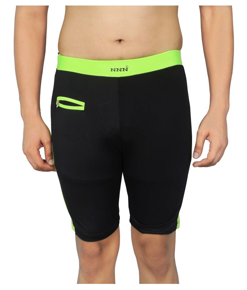 NNN Black Lycra Swimming Trunk