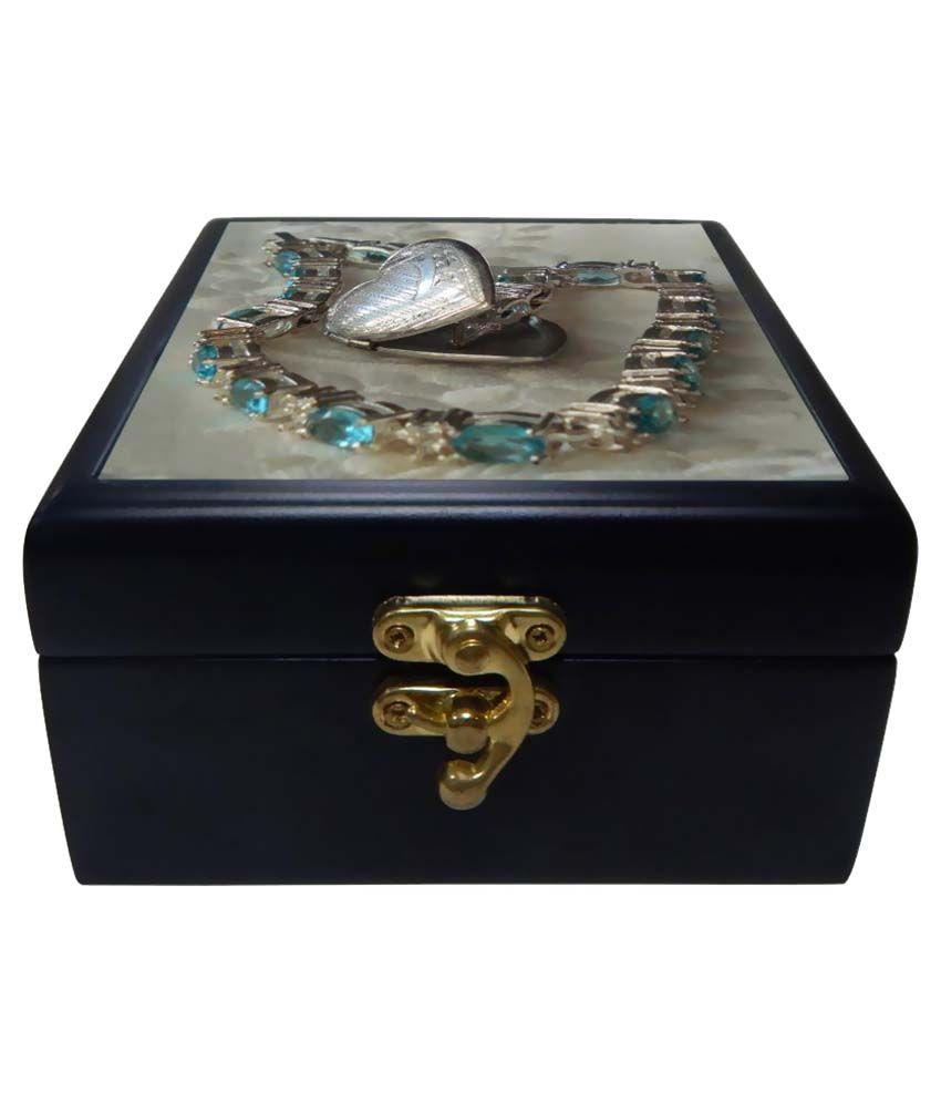 Phototech Multicolour Wooden Jewellery Box