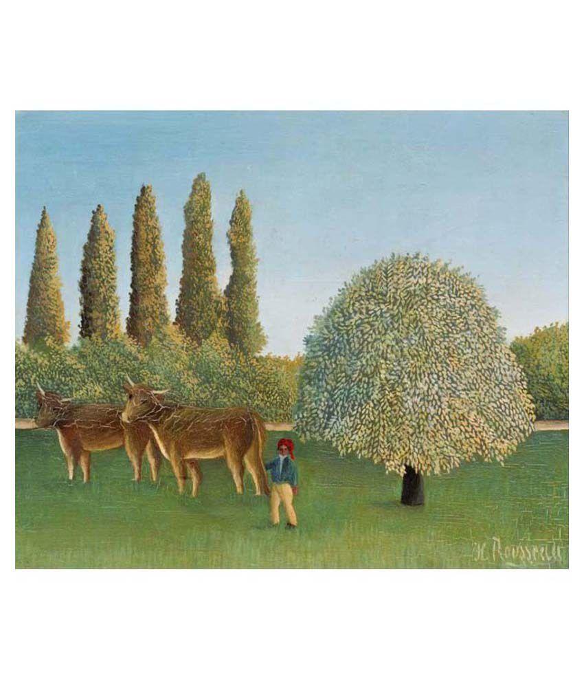 Tallenge Multicolour Canvas Art Print