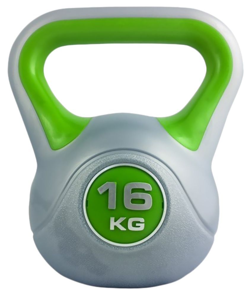 Kettlebell 16 Kg: 53% OFF On Kobo Grey Kettlebell 16 Kg On Snapdeal