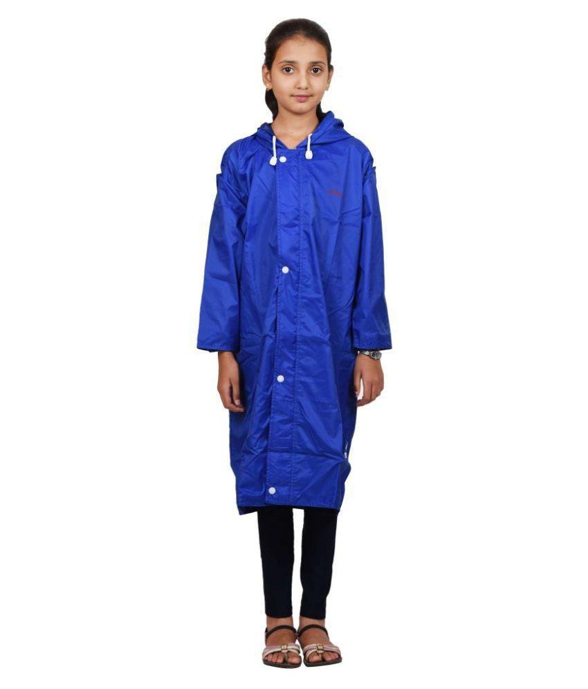 Versalis Blue Polyester Rainwear