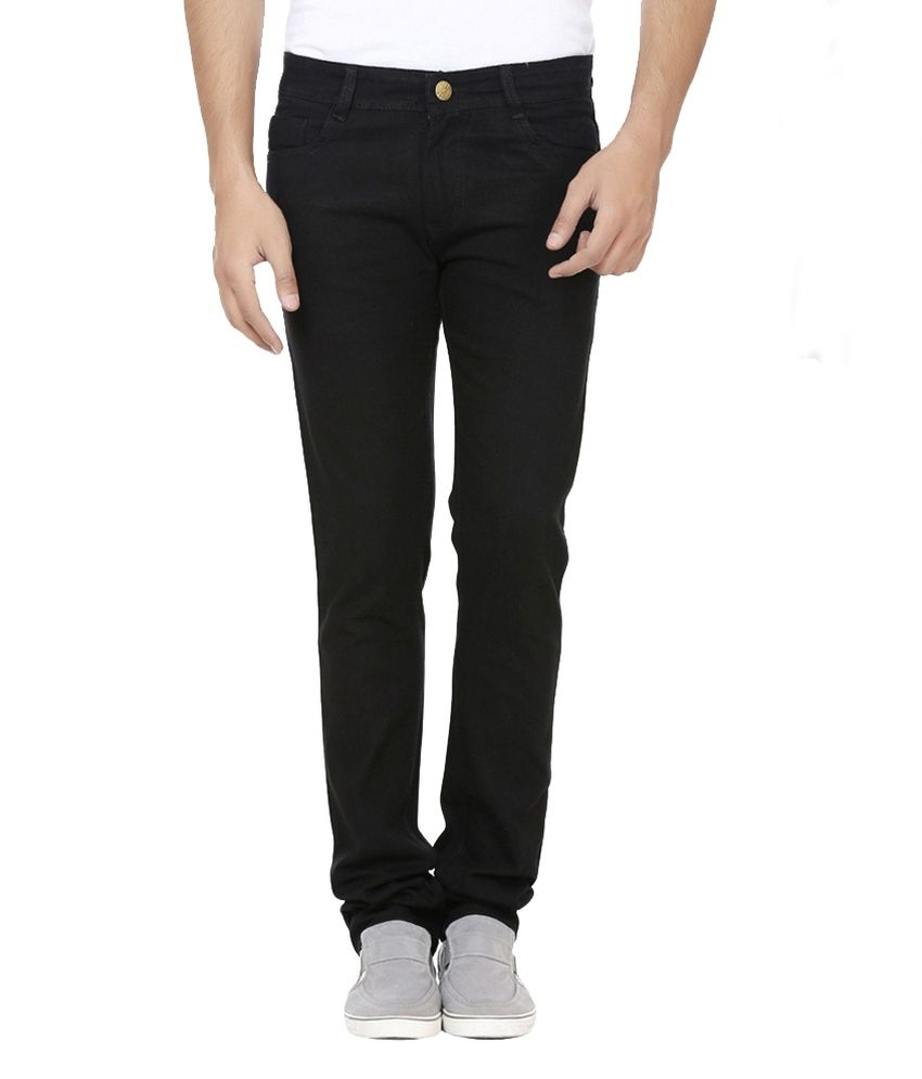 D-Rock Black Regular Fit Solid