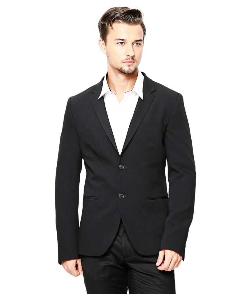 Protext Black Formal Blazers