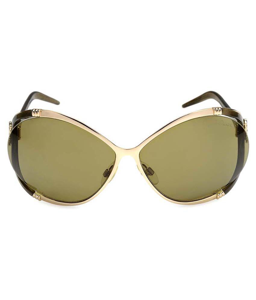 65d109c977 ... Roberto Cavalli Green Oversized Sunglasses ( RC TAIGETE 369S 772