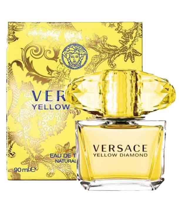 Versace Fragrances Yellow Diamond Edt 90 Ml Buy Online At Best