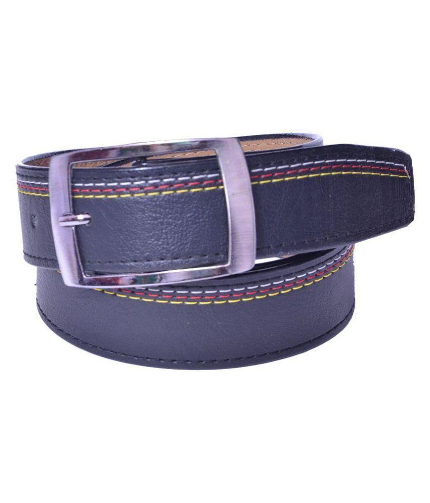 Daller Black Artificial Leather Belt