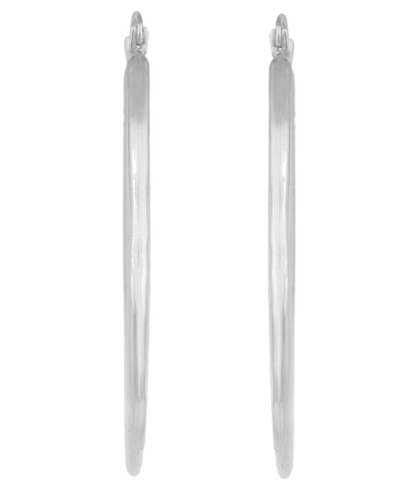 Hoop 92.5 Silver Hoops/Huggies/Balis