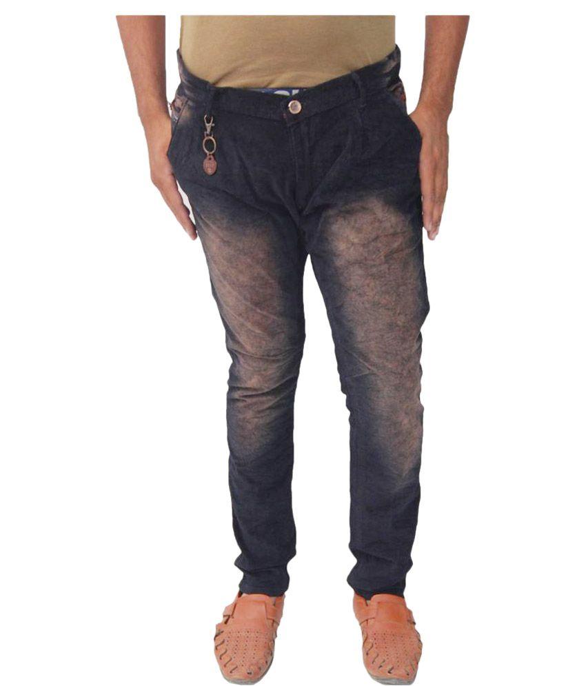 JG Forceman Black Slim Washed